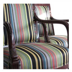 Paire de fauteuils tissu Maharam - Stripes by Paul Smith-Reverberating