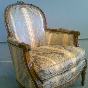 Chaise-ancienne-paire--Tissu-Beacon-Hill