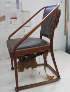 Chaise Hoffmann - suspension - avant