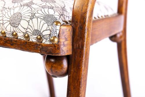 Chaise Hoffmann - Différents détails de la chaise 3