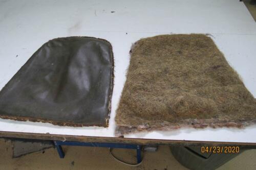 Chaise Hoffmann - Retirer les matériaux de bourre 1